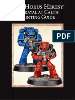 Betrayal at Calth Painting Guide