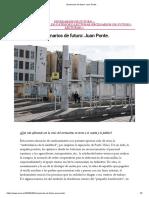 Escenarios de futuro_ Juan Ponte. -