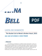 Anna Bell - Lista de dorinţe 1.0 10 '{Dragoste}