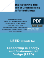 LEED Presentation for KUET on 25Feb2020