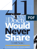 41 Things Your Doctor Would Never Share