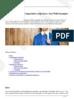 comparative-superlative-adjectives