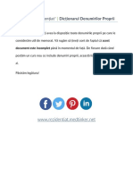 Dicționarul Denumirilor Proprii