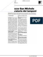 A Palazzo San Michele il laboratorio dei tamponi - Il Resto del Carlino del 17 maggio 2020