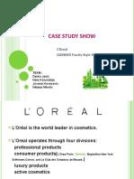 Case Study Show - L Oreal