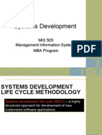 Systems Development - Fall 2006