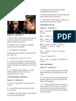 Key to Othello Chapters 4 through 10