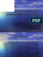 Sedentarism ppt VAM