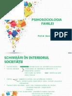 PSIHOSOCIOLOGIA FAMILIEI - CONVERSIE FINAL