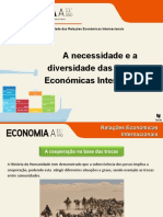 A necessidade das relações económicas internacionais (2)