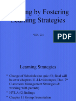 EDU chapter 11 M Learning Strategies