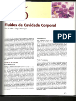 Fluidos das cavidade corporais