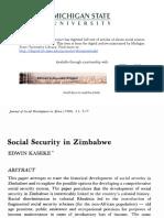 kaseke social services