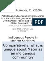 Mauipreneur- an indigenous economic model finding balance..