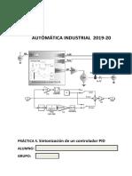 Practica 5 - Sintonizacion de un Controlador PID 2019_20