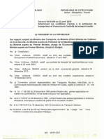 DECRET N° 2015-269 ...... ACTIVITE DE TRANSPORT  ROUTIER (1)