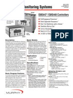 Murphy - Controlador EMS 447- Sales Bulletin