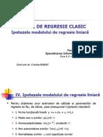 022_prezentare Curs 5,6 - Testarea Ipotezelor Modelului Liniar de Regresie