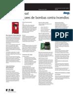 Eaton - DS - FD120 Diesel Engine Fire Pump Controller - SP (1).pdf