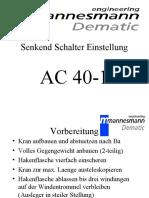 AC25_Senkendschalter