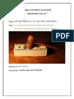 A Case Study on Maintenance IPL