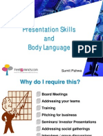 6 Presentation Skills and Body Language 66 Slides