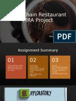 Café Chain Restaurant Project