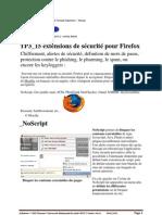 TP1_15 extensions de sécurité pour Firefox