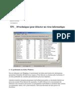 TP4 _ 10 techniques pour détecter un virus informatique