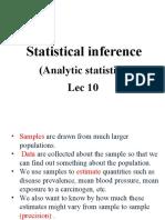 Statistics Lec 10