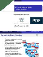 Aula 05 Redes / TCP/IP CAMADA DE REDE