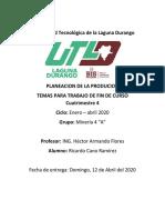 Planeacion de La Producion Ing Hector