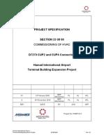 23 08 00 Commissioning of HVAC