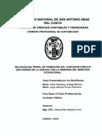 Tesis UNSAAC Perfil CP - Mercado 2015 177 pg