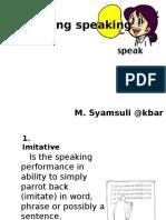 Asessing Speaking