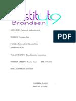COMUNIDAD DE APRENDIZAJE PDF. FRANCO TACCETTA 1ERO ED. FISICA. I.S.F.D Y T N°49