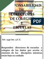 CAP. X RESP. DIRECT COL Y ESC.