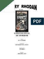 P-215 - O Ponto Final de Horror - H. G. Ewers