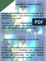CAP. VII  RESP. X EL HECH PROPIO