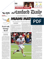 The Stanford Daily, Jan. 3, 2011