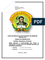 ANALISIS Y CONCLUSIONES DE LA LEY 264 SEG. CIUDADANA