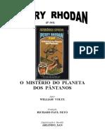 P-242 - O Mistério do Planeta dos Pântanos - William Voltz.doc