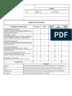 RUBRICA PARA CALIFICAR SOLUCION DE PRPOBLEMAS V-2