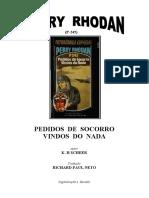 P-245 - Pedidos de Socorro Vindos do Nada - K. H. Scheer.doc