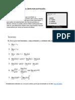1.4 Límites por sustitución