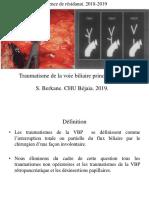 LES TRAUMATISMES DE LA VBP. PDF