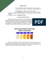 Analiza urinii