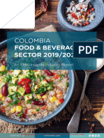 EMIS Insights - Colombia Food and Beverage Sector Report 2019_2020