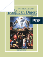 The Anglican Digest - Summer 2020