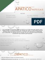 Presentación EMPRESA ZAPATICO ROTO SAS